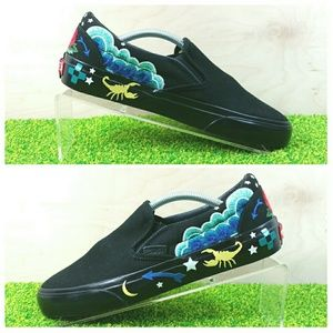 Vans Shoes - NEW Vans Desert Embellish Black Slip On Shoes